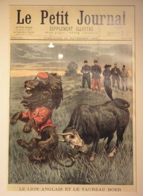 Karikatura iz časa druge burske vojne