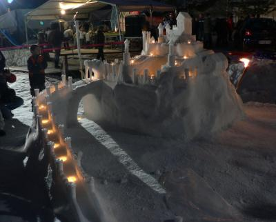Grad ponoči