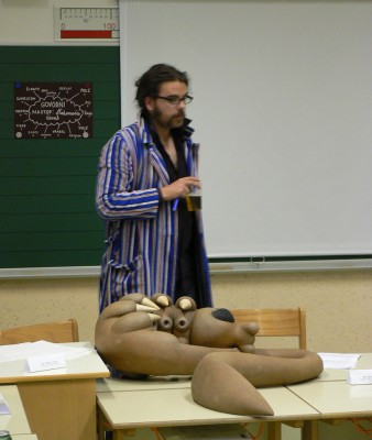 Dr. Bata Leviki in veliki blatar
