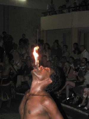 Požiranje ognja