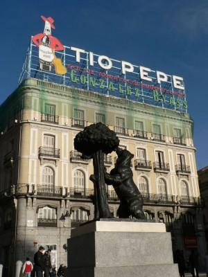 Medved, ki je simbol mesta