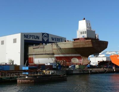 160 let stara ladjedelnica Neptun Werft