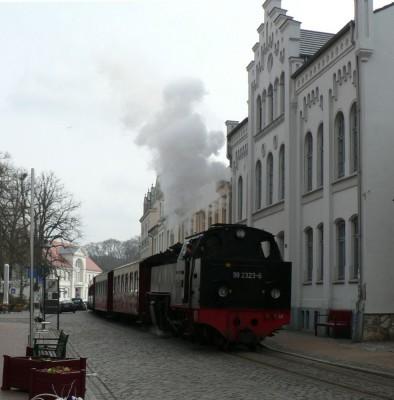 Molli sopiha skozi mesto