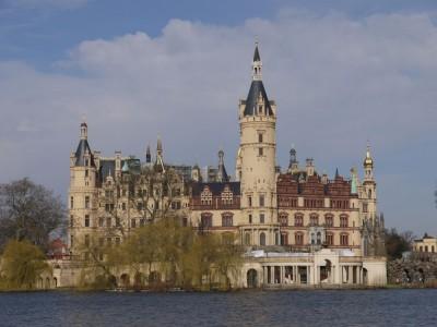 Pogled na grad z jezera