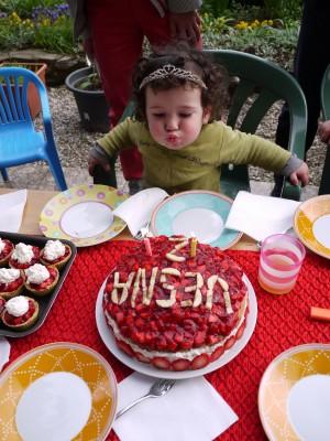 Vesna je praznovala drugi rojstni dan.