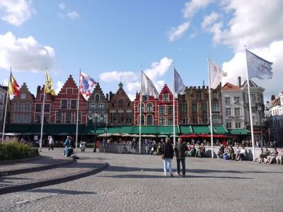 Glavni trg v Brugesu