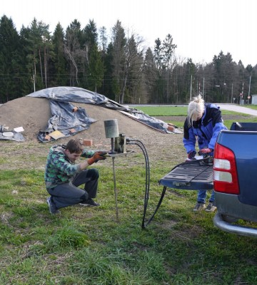 Geopenetracija v teku