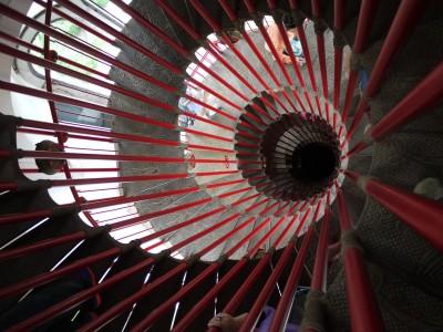 Dvojno spiralno stopnišče