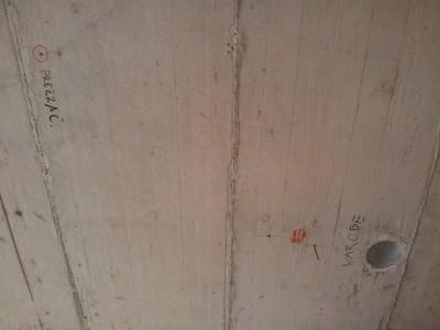 Kozlovsko pokopališče na našem stropu